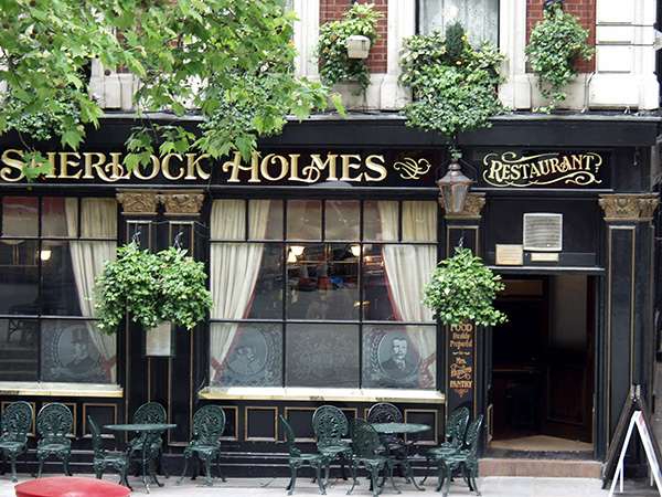 Very interesting eatery honoring England own Sherlock Holmes. - click thumbnail image to view full size image.